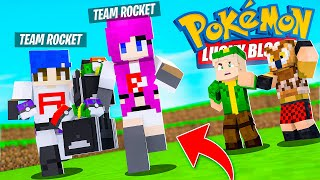 EL TEAM ROCKET! ROBA POKEMON LEGENDARIO! - POKEMON x Minecraft