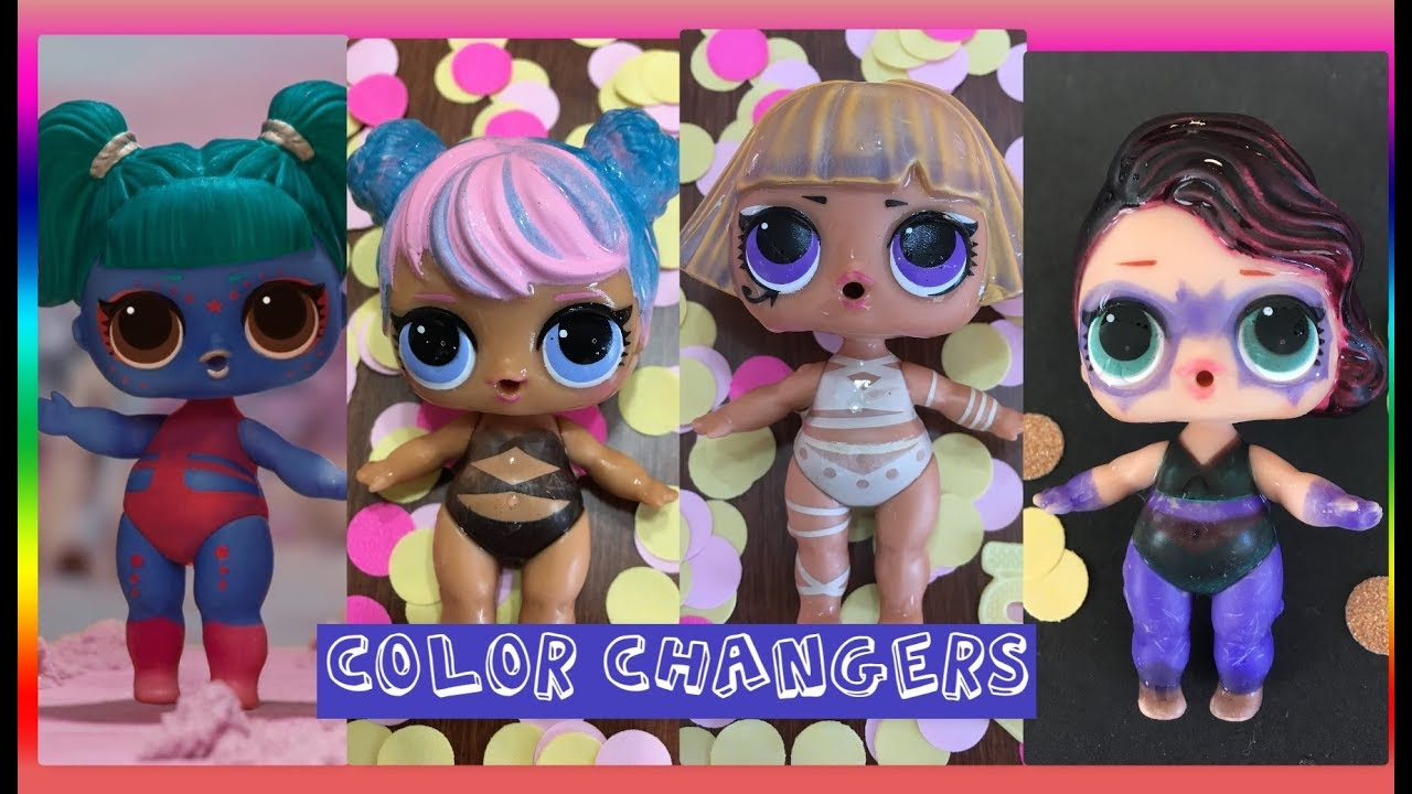 Which Lol Dolls Color Change Lol Surprise Confetti Pop