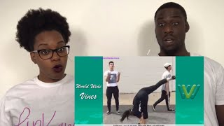 NEW LUCAS AND MARCUS DANCE VINE COMPILATION REACTION!!