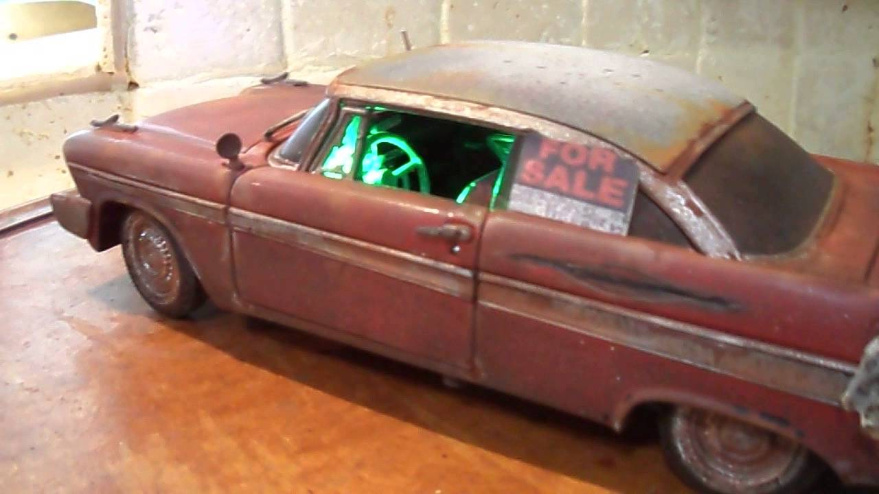 "Wrecked Cars For Sale >> ""CHRISTINE"" 1/18 Diecast Car - YouTube"