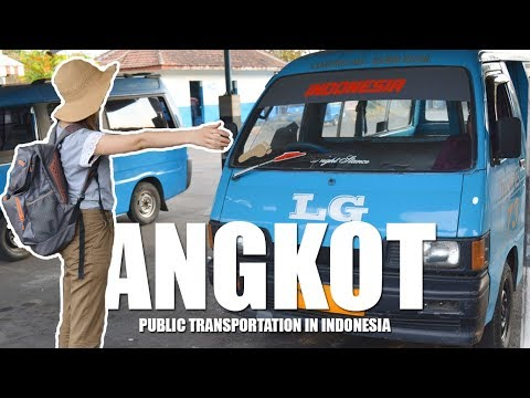 ANGKOT : Public Transportation in INDONESIA - Globe in the Hat #5