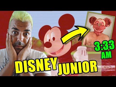JAMÁS VEAS LA CASA DE MICKEY MOUSE A LAS 3:33 AM | El lado oscuro de disney junior