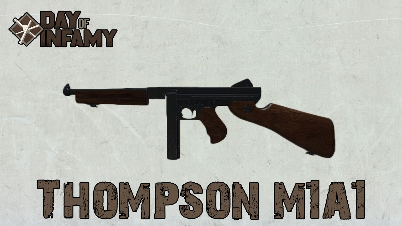 Thompson M1a1 Weapon Review - Day Of Infamy