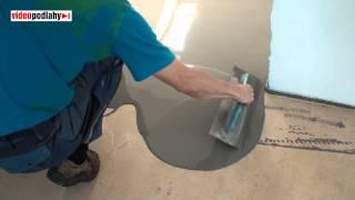 Cementová nivelace na anhydrit, která nemá pnutí na podlahy