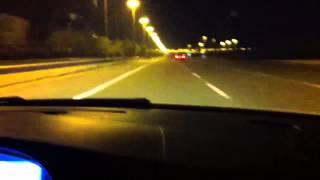 BMW E60 M5 vs Mercedes C63 AMG 0 to 340 plus kmph top speed fun 2