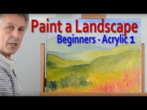 Landscape Painting: Part 1 – How to create depth