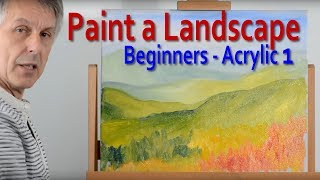 Landscape Painting: Part 1 - How to create depth