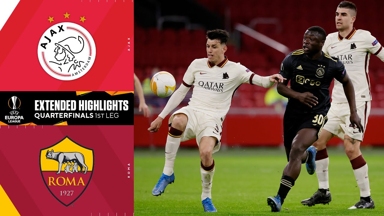 Ajax 1, Roma 2: Europa League Match Recap