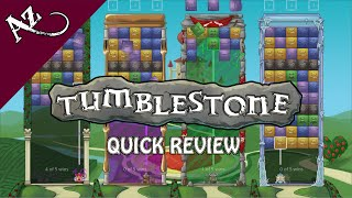 Tumblestone - Quick Game Review