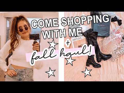 come fall shopping with me!!! & haul