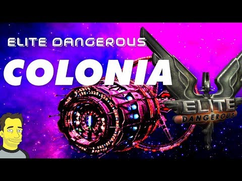 Elite: Dangerous Horizons - Arrival at Colonia and Jaques Station | Road to Colonia