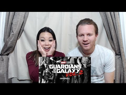 Guardians of the Galaxy 2 Teaser Trailer Reaction & Review