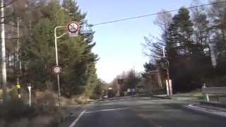 八ヶ岳高原ライン 〔観音平入り口(冬季閉鎖中)前後〕