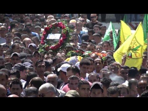 West bank buries Palestinian killed by Israeli troops