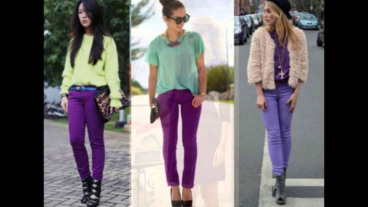 Moda 2015 colores radiantes ropa a la moda youtube for Colgadores de ropa de pared