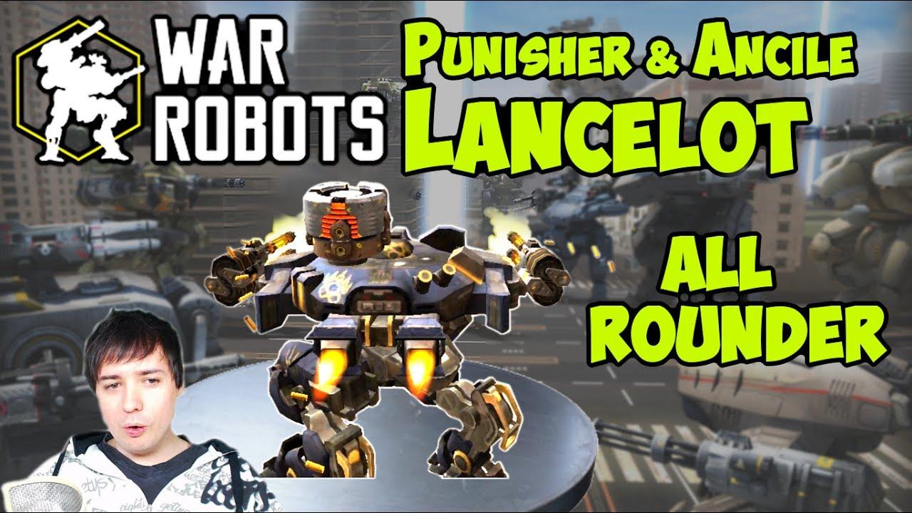 War Robots Test Server - Epic Allround Punisher & Ancile ...