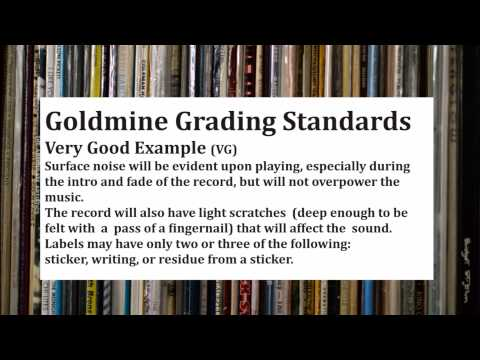 Goldmine Record Grading Audio Examples
