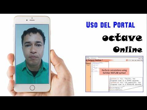 Uso Del Portal Octave Online