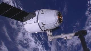 U.S. Commercial Cargo Craft Arrives at the International Space Station