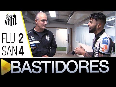 Fluminense 2 x 4 Santos | BASTIDORES | Brasileirão (22/06/16)