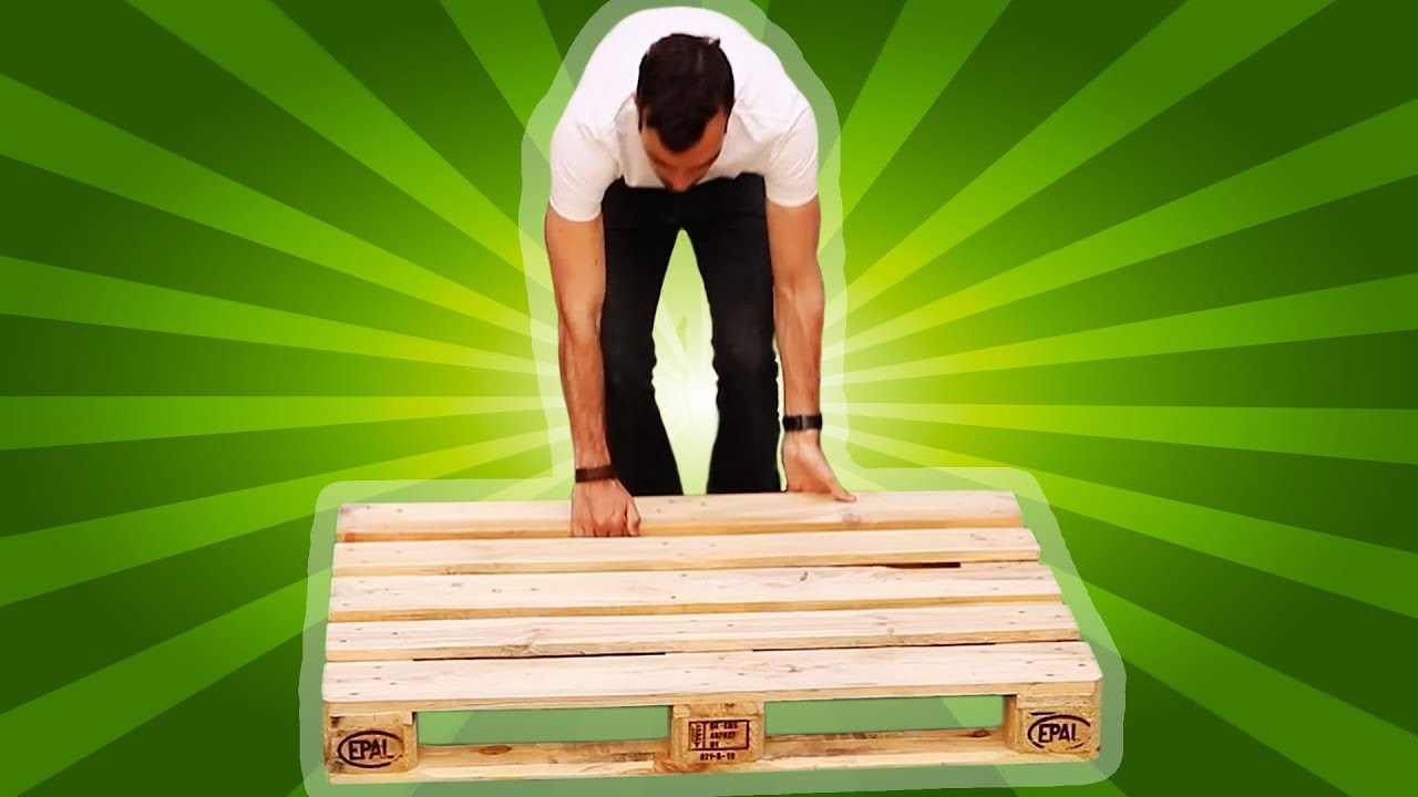 How To Build Your Own Relaxation Spot Using Wooden Pallets