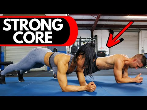 3 Minute PLANK Workout // Isometric CORE Exercises for ROCK Solid Abs