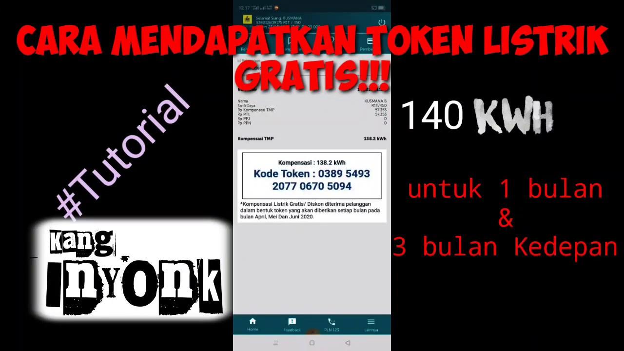 Cara mendapatkan pulsa Token Listrik gratis!!! - YouTube