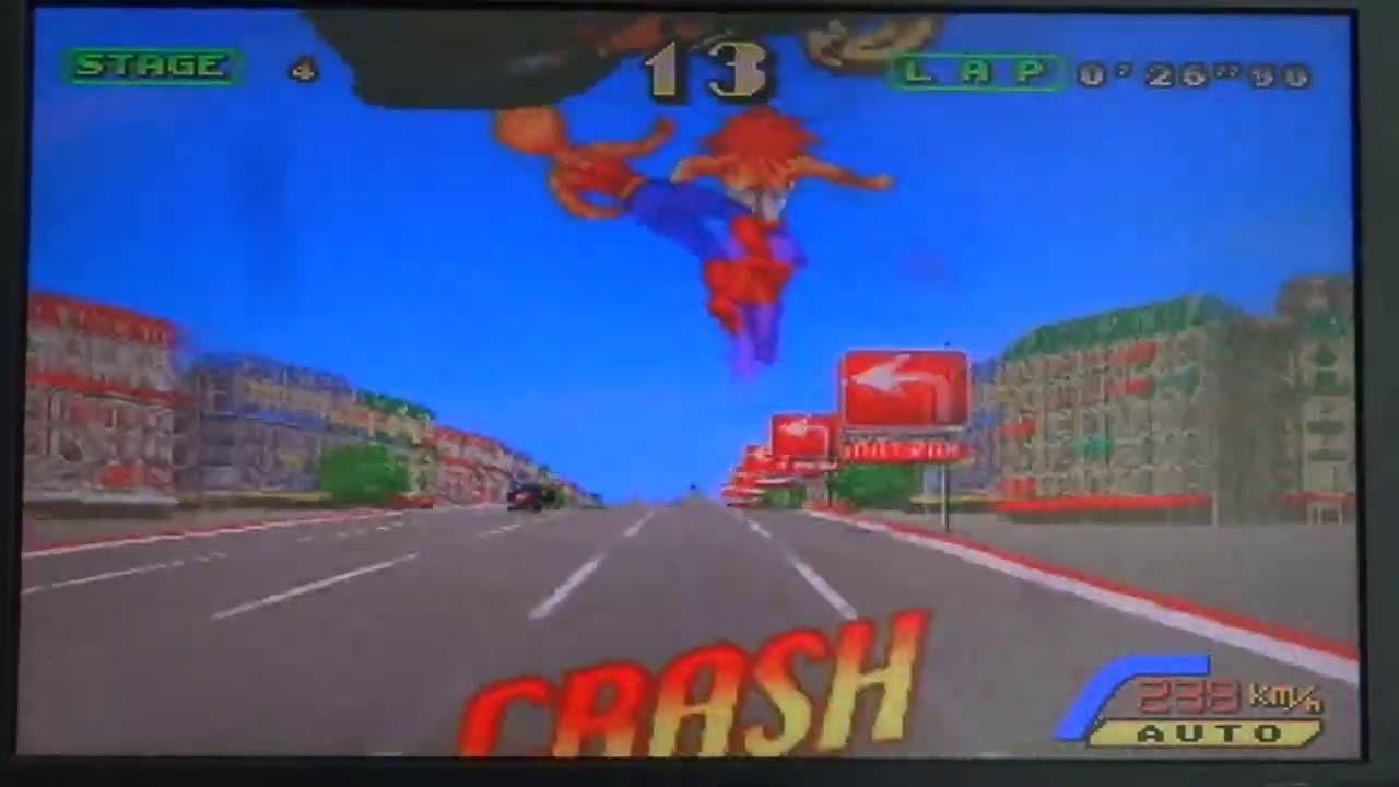 Outrunners: Sega Arcade (Actual Hardware)