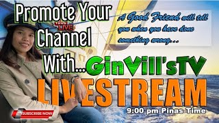 Download GinVillsTV Live | Short Video Paangat | Let Me Promote Your Channel