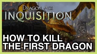 How to Kill The First Dragon of Dragon Age Inquisition - The Fereldan Frostback