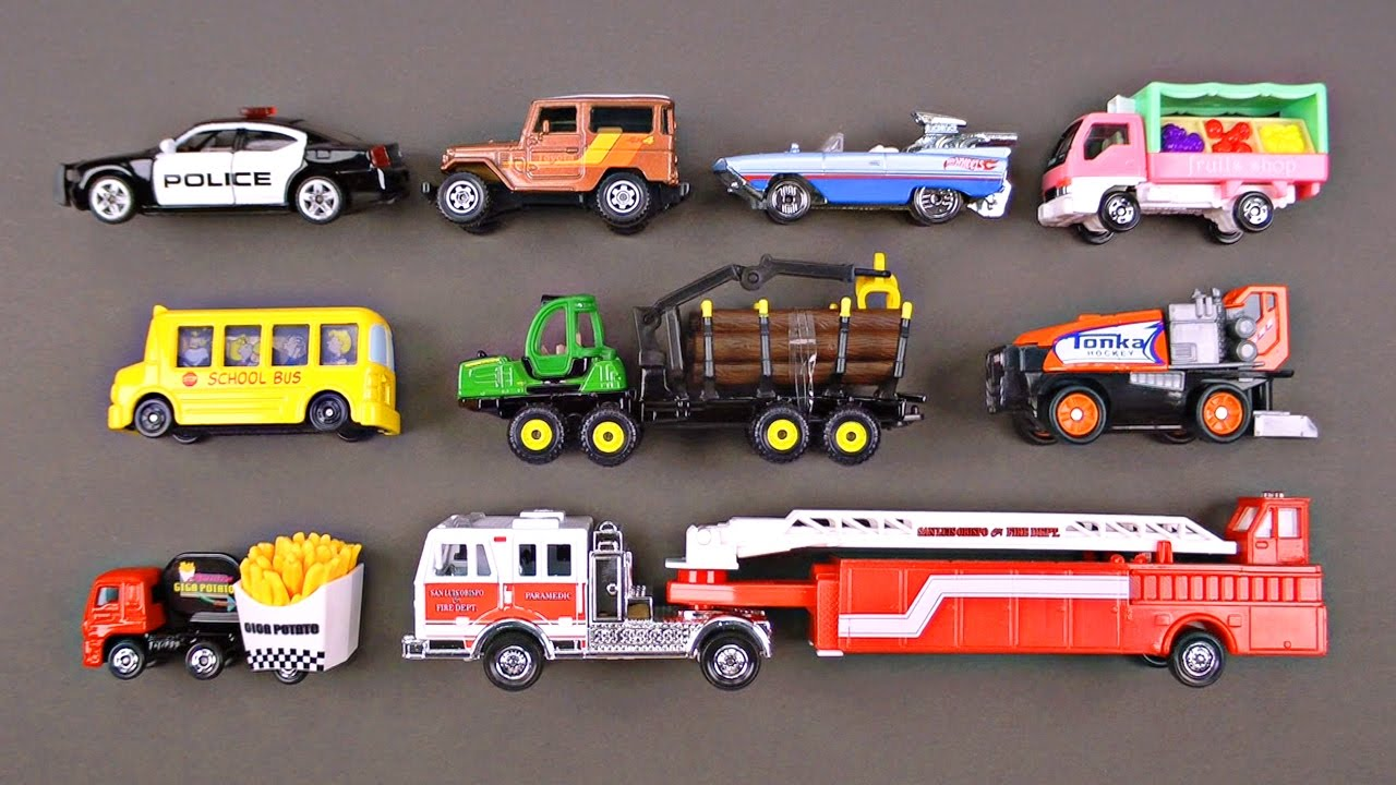 Best Matchbox Cars And Toys For Kids : Best learning cars trucks street vehicles for kids