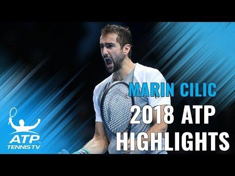 MARIN CILIC: 2018 ATP Highlight Reel