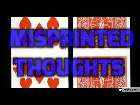 MAGIC TRICKS VIDEOS IN TAMIL #211 I MISPRINTED THOUGHTS @Magic Vijay