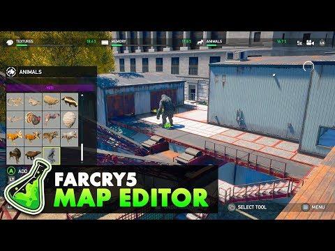 Exploring the Far Cry 5 Map Editor  - Far Cry Arcade
