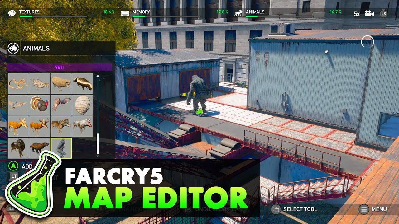 Exploring The Far Cry 5 Map Editor Far Cry Arcade Forge Labs Youtube