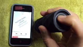 Outdoor Technology Buckshot bluetooth speaker review