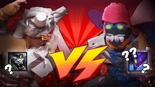 Cheap Cosplay Challenge: Rengar vs. Kha'zix /ALL Chat [League of Legends]