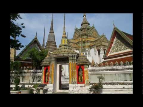 Wat Pho o Templo del Buda reclinado (Bangkok, Tailandia)