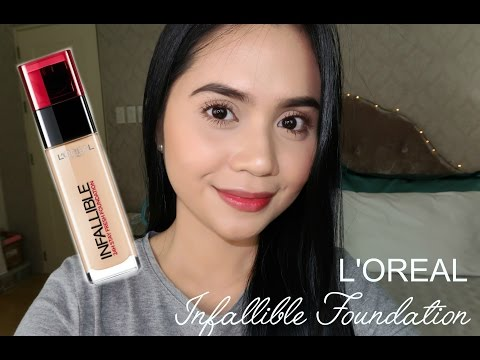 FIRST IMPRESSIONS: Loreal Infallible 24H Stay Fresh Foundation | Anna Cay ♥
