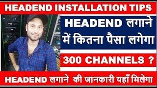 Digital Headend Gospell Encoder Configuration in hindi   by