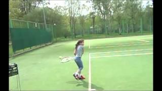 Теннис — уроки детям, ракетка и мяч его друзья