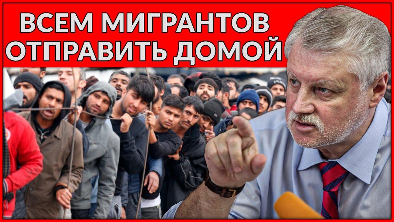 В Госдуме предлагают депортировать мигрантов!