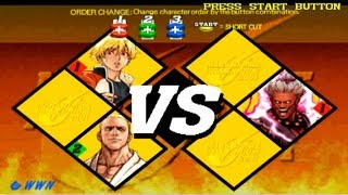 [TAS] Capcom Vs Snk 2 Playstation2 - Rock Howard/Geese Howard