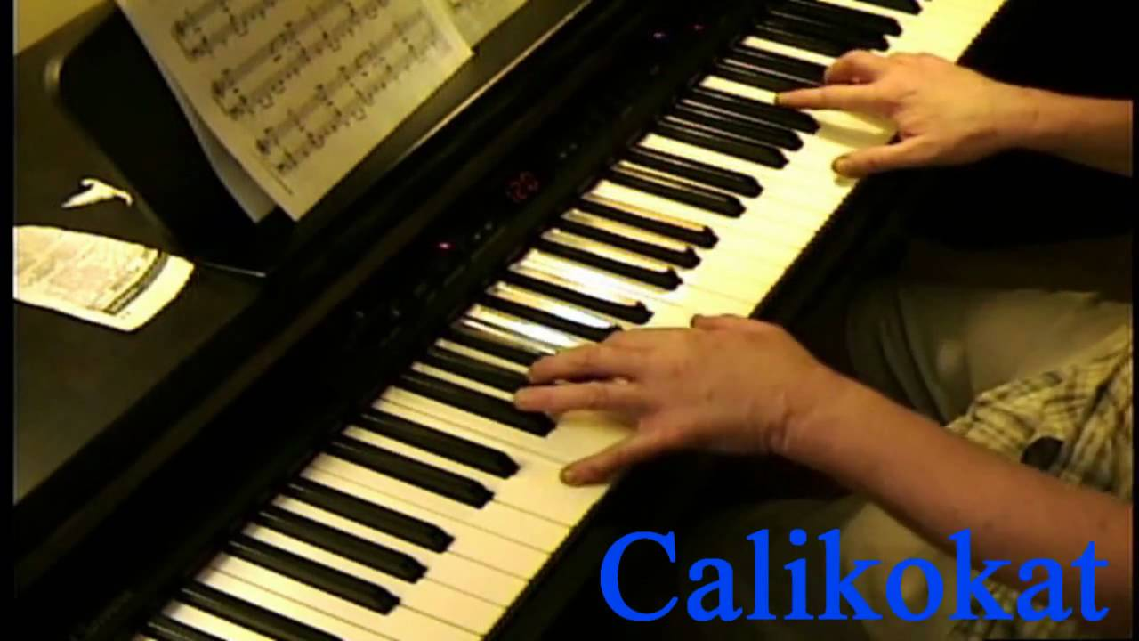 how to play cant help falling in love on piano