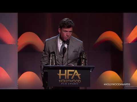 Taylor Sheridan Accepts the Breakthrough Director Award  HFA 2017