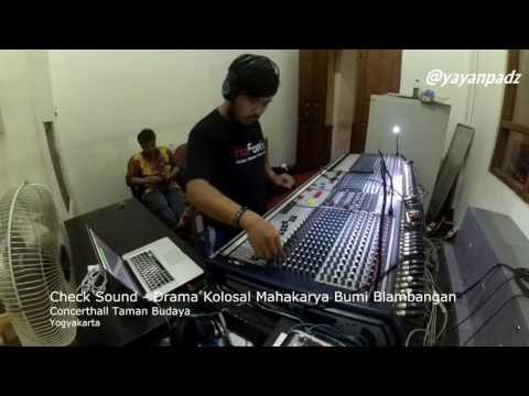 Cek Sound Kendang Kempul Banyuwangi AUDIO DARI MIXER