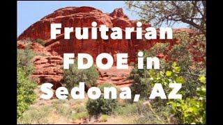 Fruitarian FDOE + solo female car camping travel vlog in Sedona, AZ