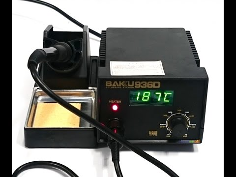 Паяльная станция BK-936D BAKU для контактной пайки C цифровым индикатором