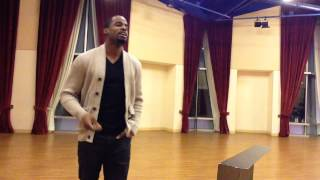 Jared Dixon - Fly Me To the Moon (Rehearsal)