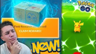 The NEW RESEARCH BREAKTHROUGH BOX in Pokémon Go!